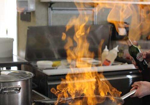 Flambering - pas nu på kok!